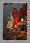 Praying Ladies in Chhath Parba